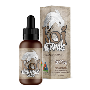 Koi Naturals Full Spectrum CBD Tincture Natural 2000mg Combo
