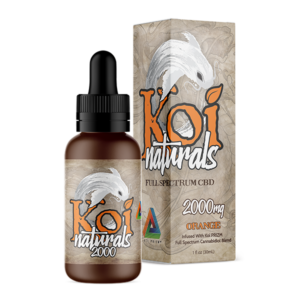 Koi Naturals Full Spectrum CBD Tincture Orange 2000mg Combo