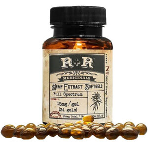 R+R Medicinals Soft gel available in 2 strengths 15mg, and 30mg