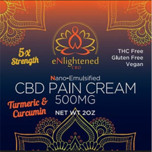 eNlightened Nano CBD Pain Cream