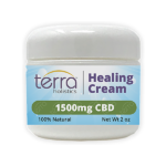 Terra Holistics Broad Spectrum CBD Pain Cream 1500mg 2oz