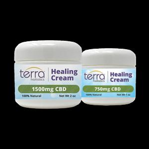 Terra Holistics Broad Spectrum CBD Pain Cream