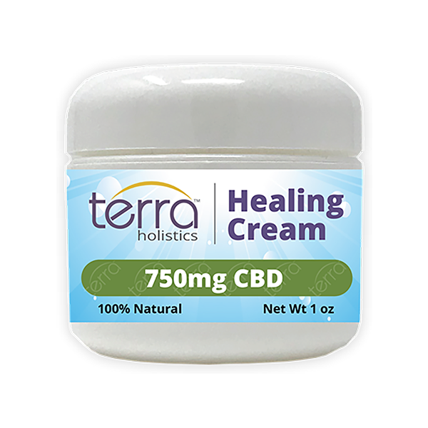 Terra Holistics Broad Spectrum CBD Pain Cream 750mg 1oz