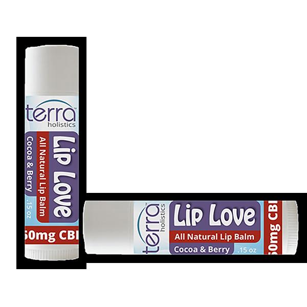 Terra Holistics CBD Lip Balm Berry