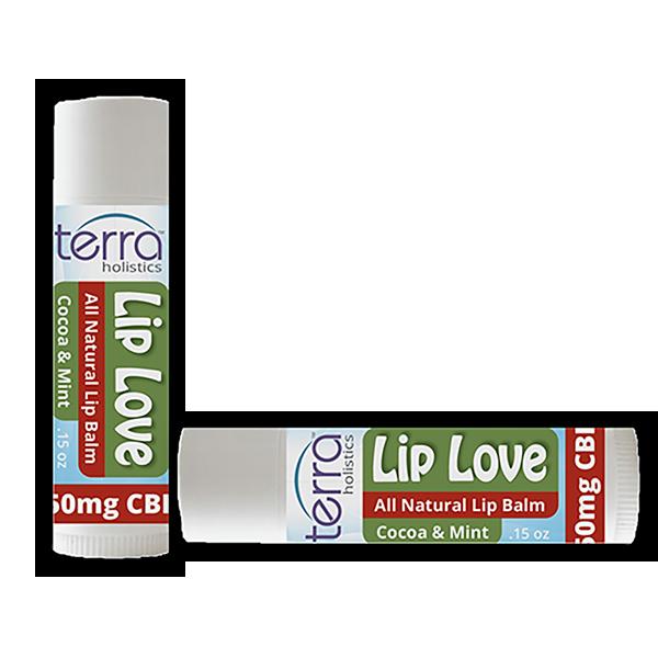 Terra Holistics CBD Lip Balm Mint