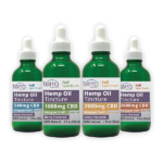 Terra Holistics Full Spectrum CBD Tincture 4 mg Strengths 30ml