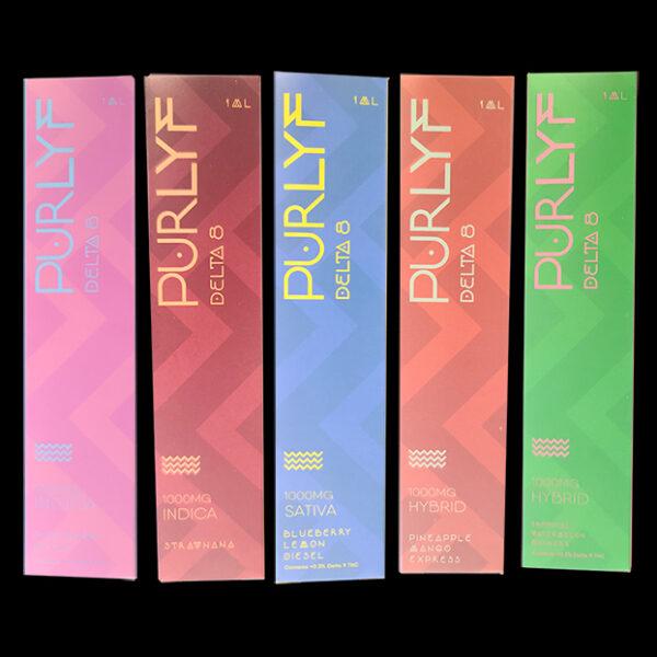 Purlyf Delta 8 Disposables