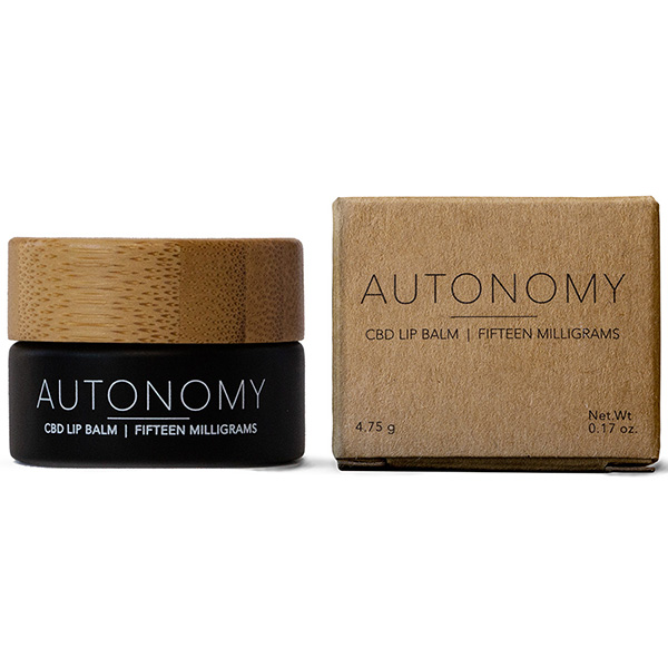 Autonomy CBD Lip Balm and Box