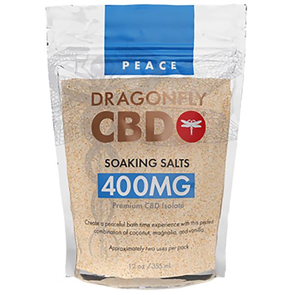 Dragonfly Soaking Salts Peach 400mg