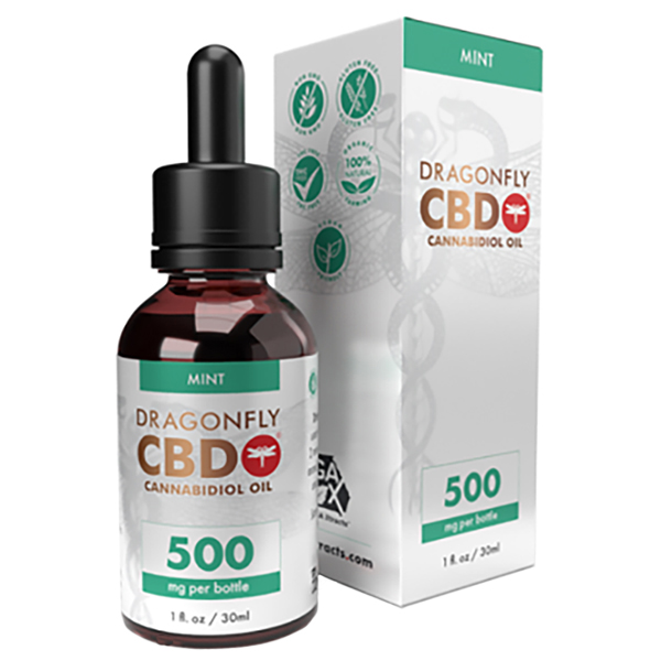 Dragonfly Tincture Mint 500mg
