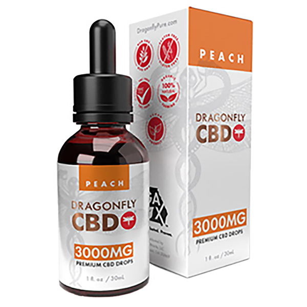 Dragonfly Tincture Peach 3000mg