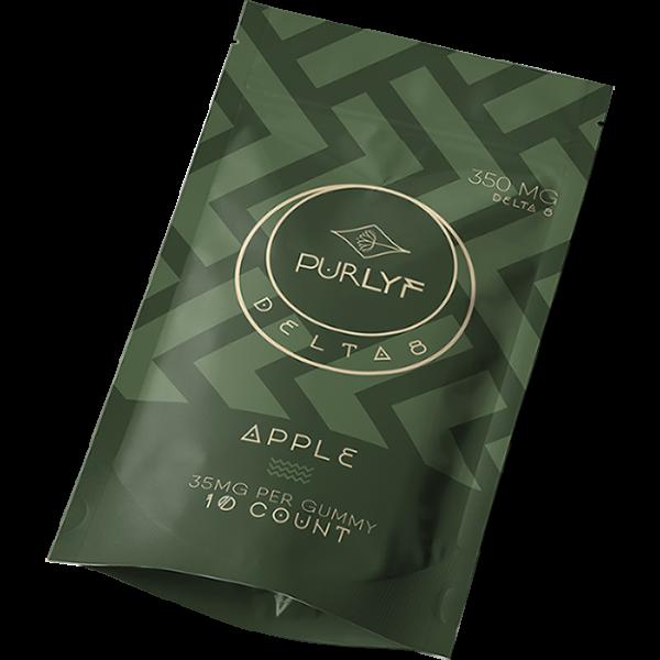 Purlyf Purly Delta 8 Apple Gummies