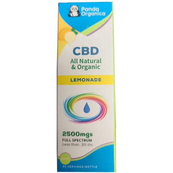 Panda Organica 2500mg CBD Lemonade