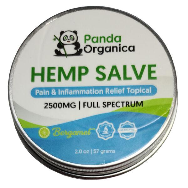 Panda Organics Full Spectrum Hemp Salve - Bergamet