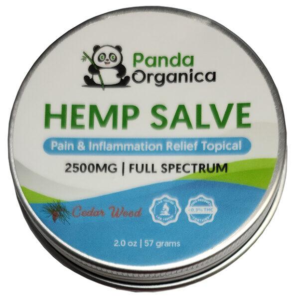 Panda Organics Full Spectrum Hemp Salve - Cedar Weed