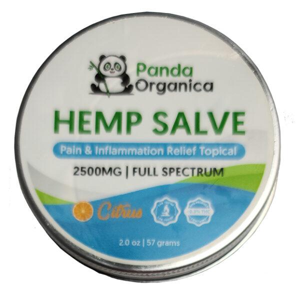 Panda Organics Full Spectrum Hemp Salve - Citrus