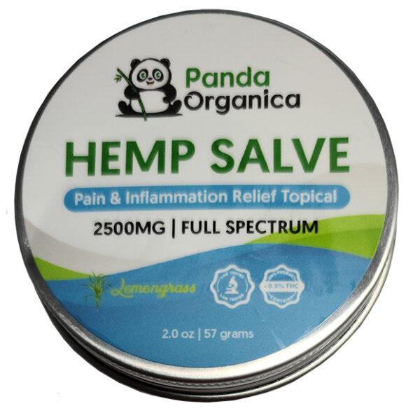 Panda Organics Full Spectrum Hemp Salve - Lemongrass