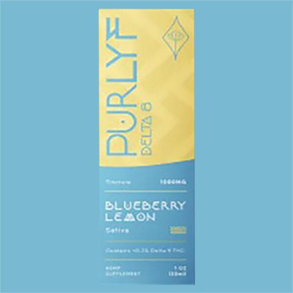 Purlyf Blueberry Lemon Delta 8 Tincture Box