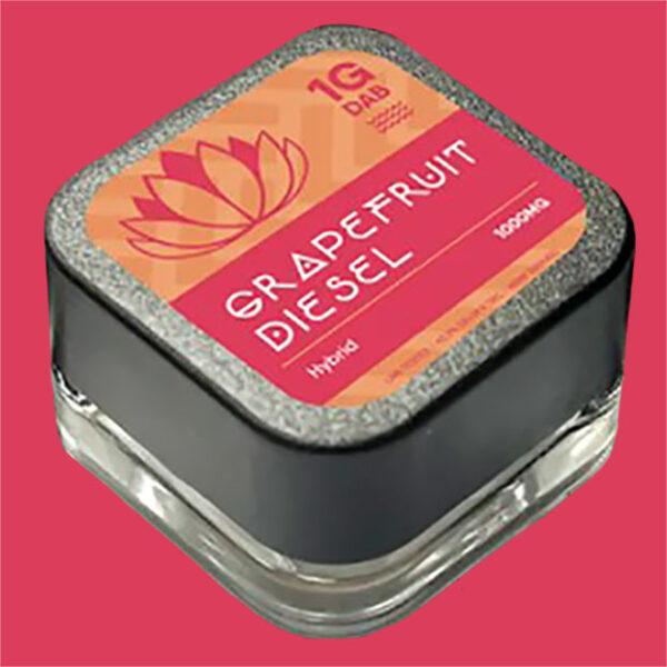Purlyf Grapefruit Diesel Delta 8 Dab top