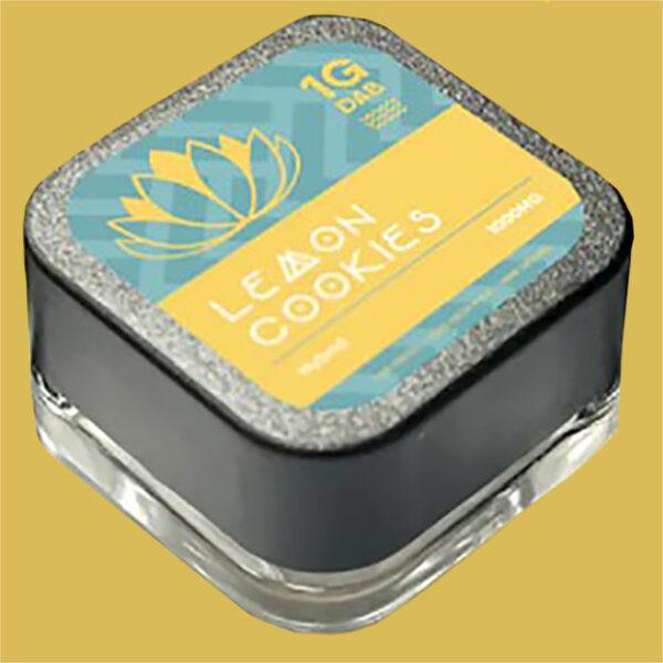 Purlyf Lemon Cookies Delta 8 Dab top