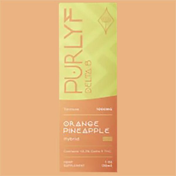 Purlyf Orange Pineapple Delta 8 Tincture Box