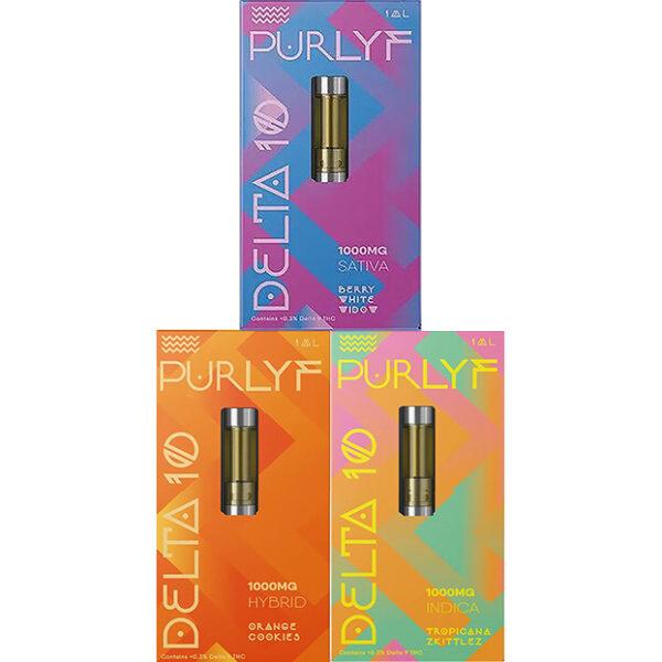 Purlyf All 3 Delta 10 Cartridge