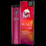 Koi Delta 8 Disposable Vape Super Sour Zkittles
